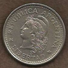 Buy Argentina 20 Centavo 1957 Capped Liberty Head Coin