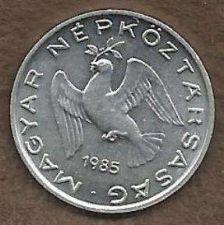 Buy HUNGARY 10 FILLER 1985 COIN - XF-SUPER FINE- NICE OLD ALUMINUM BIRD COIN, KM572