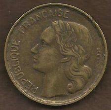 Buy 1953 B France 50 Francs Coin KM# 100.1 Aluminum-Bronze Collector's Coin 2 Rare!
