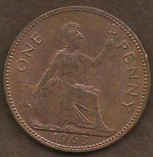 Buy 1963 ENGLAND (GREAT BRITAIN) PENNY 2