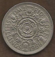 Buy 1966 Great Britain (England) 2 Shilling Coin