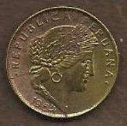 Buy Peru 5 Centavos 1964 Coin