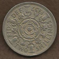 Buy Great Britain (England) Two Shillings 1957
