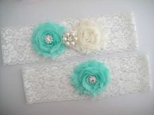 Buy Wedding Garter, Bridal Garter Set - White Lace Garter, Keepsake Garter,