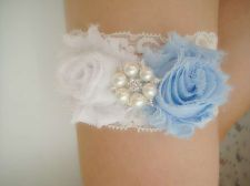 Buy wedding bridal garter - white lace garter,keepsake garter,toss garter,
