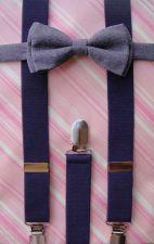Buy baby,suspenders and bow tie,girls suspenders,gift suspendrs,wedding suspenders