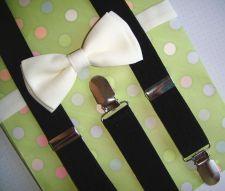 Buy baby,boys suspenders and bow tie set,girls suspenders,gift suspendrs,