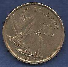 Buy Belgium 20 Francs 1982 Coin