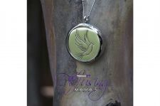 Buy Flying Dove Diffusing Mama's Brand Essential Oils Aromatherapy Locket Necklace