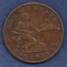 Buy Phillipines 1 Centavo 1944 Coin WWII Era Currency