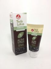Buy TWIN LOTUS ACTIVE CHARCOAL TOOTHPASTE HERBALISTE Triple Action 50 GRAM