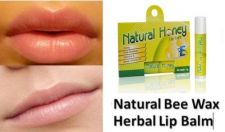 Buy 4g Lip Balm Natural Honey Pure Bee Wax Thai Herbal 100 % FREE SHIPPING