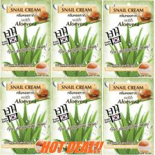 Buy 6 FUJI Snail Cream with Aloe Vera Reduce Scars wrinkles Anti Aging Moisturizer