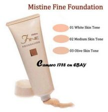 Buy Mistine Fine Cream Foundation - 02 (521) - for Medium Skin
