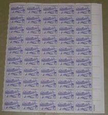Buy US, Scott# 994, three cent Kansas City sheet of 50 stamps