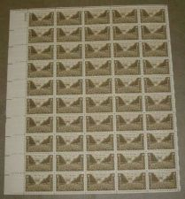 Buy US, Scott# 934, three cent Army sheet of 50 stamps
