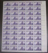 Buy US, Scott# 950, three cent Utah Settlement sheet of 50 stamps