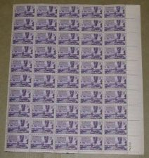 Buy US, Scott# 954, three cent California Gold Rush sheet of 50 stamps
