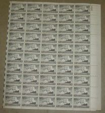 Buy US, Scott# 956, three cent Four Chaplains sheet of 50 stamps
