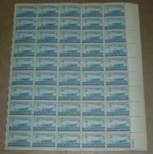 Buy US, Scott# 958, five cent Swedish Pioneers sheet of 50 stamps