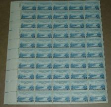 Buy US, Scott# 961, three cent US-Canada Friendship sheet of 50 stamps