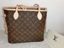 Buy LOUIS VUITTON NEVERFULL MM TOTE SHOULDER BAG PURSE