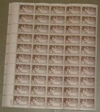 Buy US, Scott# 968, three cent Poultry Industry sheet of 50 stamps