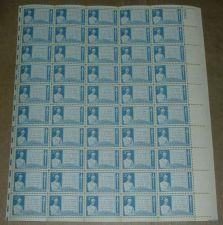 Buy US, Scott# 978, three cent Gettysburg Address sheet of 50 stamps