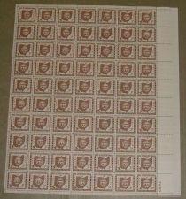 Buy US, Scott# 1018, three cent Ohio Statehood sheet of 70 stamps