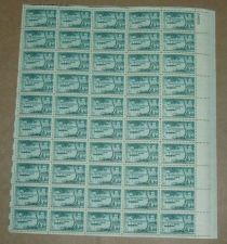 Buy US, Scott# 1021, five cent Opening of Japan, Perry sheet of 50 stamps