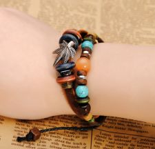 Buy leather genuine leather bracelet