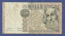 Buy 1982 Italy 1000 Mille Lire Note BB 105543 H - Marco Pollo