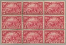 Buy United States Scott Stamp #615, block of 9, from 1924