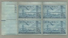Buy United States Scott Stamps #C36, Plate block of 4, from 1947