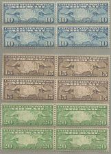 Buy Scott #C7-C9, 3 sets of 4 each, 1926-7