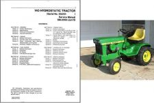 Buy John Deere 140 Hydrostatic Lawn & Garden Tractor Service Repair Manual CD