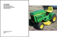 Buy John Deere 200 210 212 214 Lawn & Garden Tractor Service Manual CD - SM2105