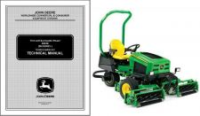 Buy John Deere 2653B PrecisionCut Trim & Surrounds Reel Mower Service Manual CD