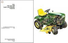 Buy John Deere 316 318 420 Lawn & Garden Tractor Service Repair Manual CD