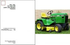 Buy John Deere 322 330 332 430 Lawn & Garden Tractor Service Repair Manual CD