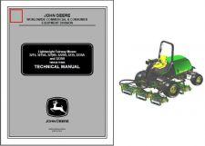 Buy John Deere Fairway Mower 3215 A B, 3225B, 3235 A B Service Repair Manual CD