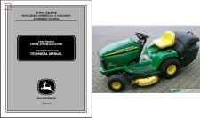 Buy John Deere LTR155 LTR166 LTR180 Lawn and Garden Tractor Service Repair Manual CD