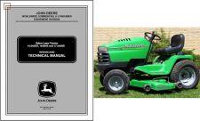 Buy John Deere Sabre Series Lawn & Garden Tractor Service Repair Manual CD