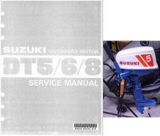 Buy 79-92 Suzuki DT5 DT5W DT6 DT8 2-Stroke Outboard Motor Service Repair Manual CD