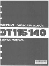 Buy 81-85 Suzuki DT115 DT140 2-Stroke Outboard Motor Service Repair Manual CD