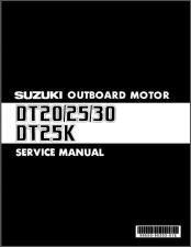 Buy 83-14 Suzuki DT20 DT25 DT30 DT25K Outboard Motor Service Repair Manual CD