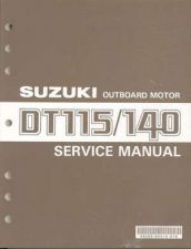 Buy 87-00 Suzuki DT115 DT140 2-Stroke Outboard Motor Service Repair Manual CD