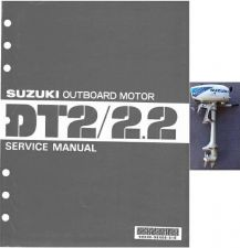Buy 87-97 Suzuki DT2 DT2.2 Two Stroke Outboard Motor Service Repair Manual CD - DT 2
