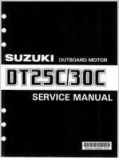 Buy 88-00 Suzuki DT25C DT30C 2-Stroke Outboard Motor Service Repair Manual CD