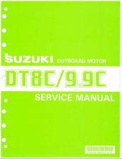 Buy 88-92 Suzuki DT8C DT9.9C 2-Stroke Outboard Motor Service Repair Manual CD